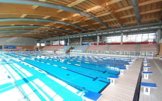 Piscina comunale daniele samuele milano for Piano del sito piscina